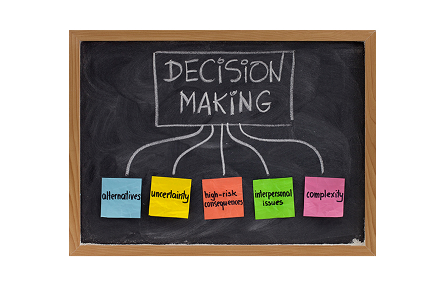The emotional side of decision making