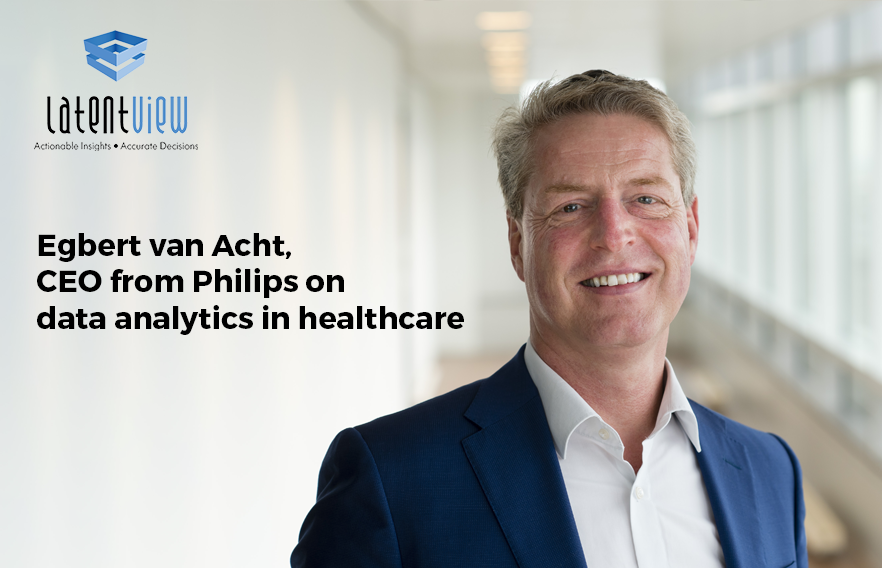 Egbert van Acht CEO from Philips on data analytics in healthcare