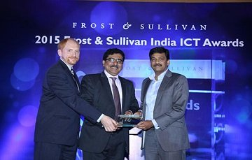 2015 Frost & Sullivan company of the year award for LatentView Analytics