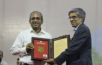 IIT Madras Distinguished Alumnus Award