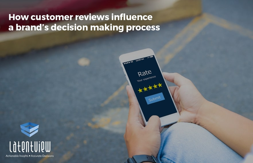 How customer reviews influence a brand's decision making process featured image