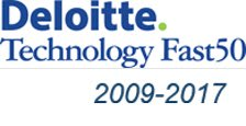 Delloitte - Technology Fast 50 Winner (2009-2015)