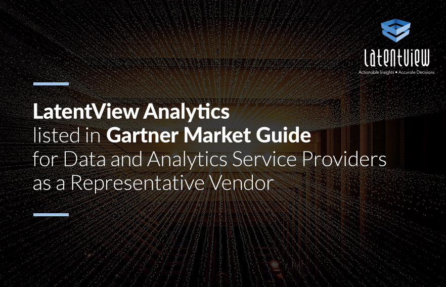 LatentView Analytics listed in Gartner Market Guide