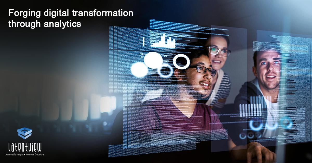 Forging digital transformation through analytics linkedIn