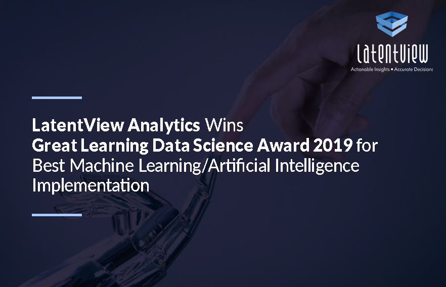 LatentView Analytics Wins Great Learning Data Science Award 2019 2