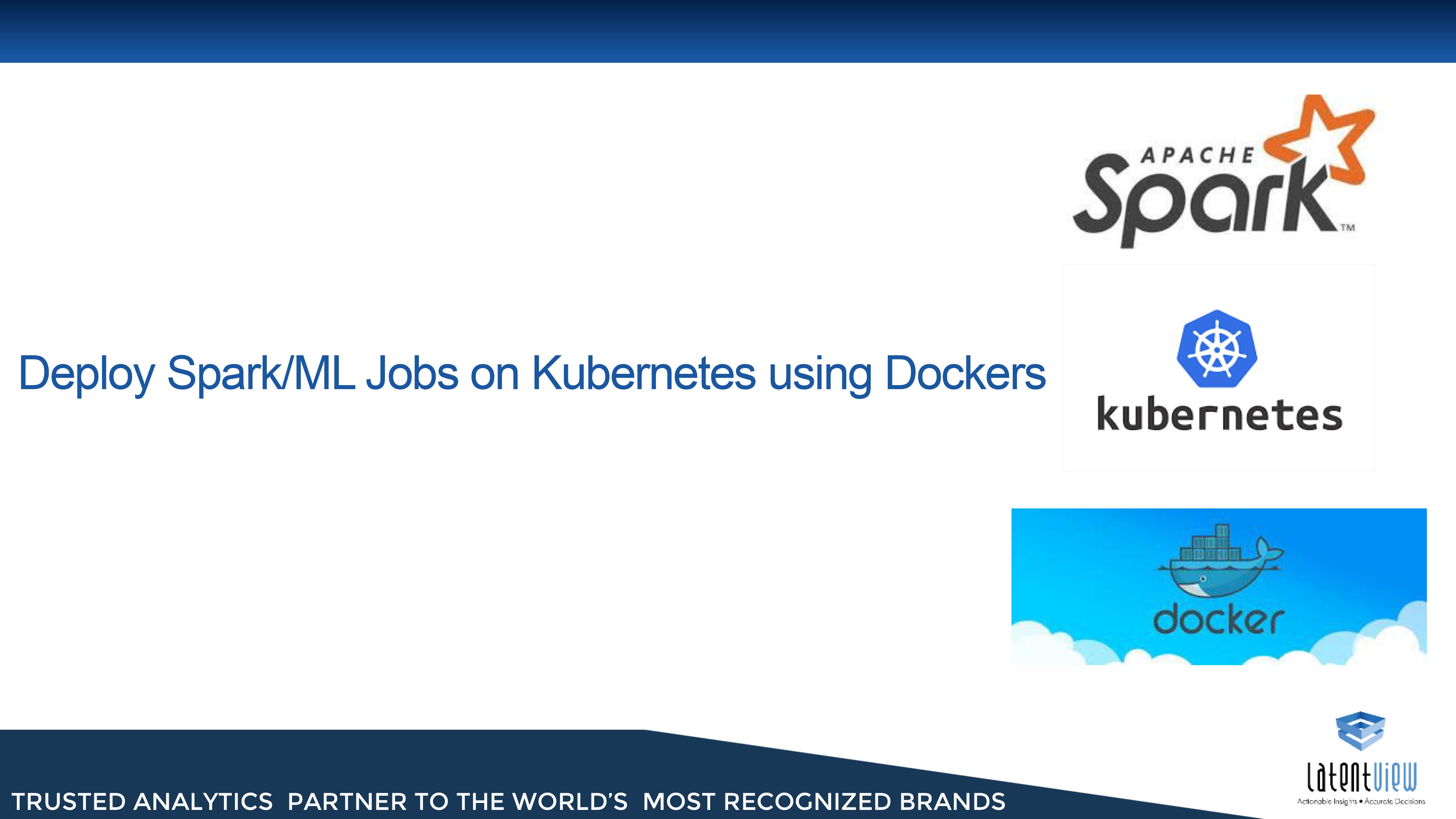 Spark on Kubernetes using Dockers 1