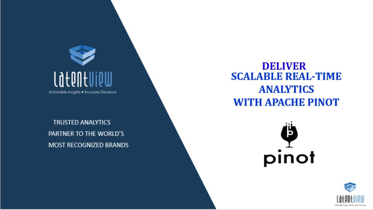 deliver scalable real time analytics 1