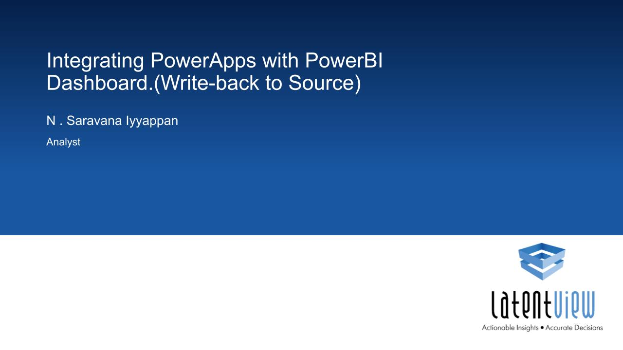 integrating powerapps with power bi dashboard 1