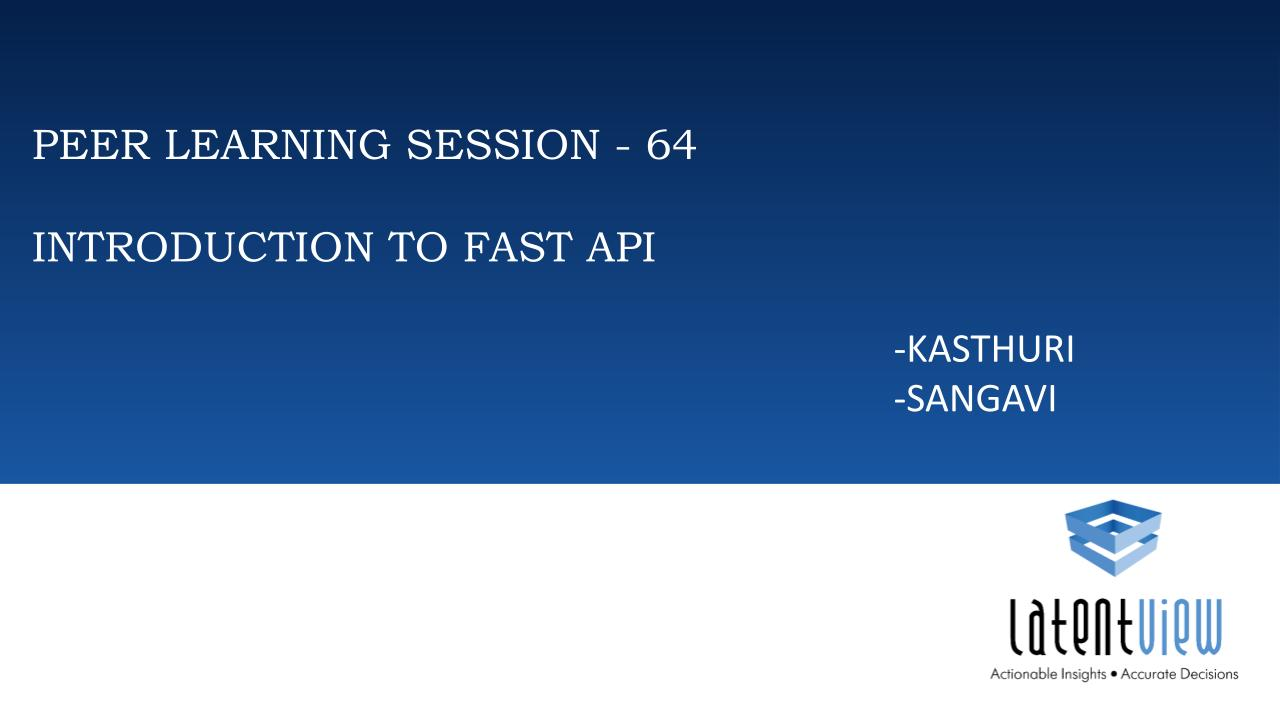 introduction to fastapi 1