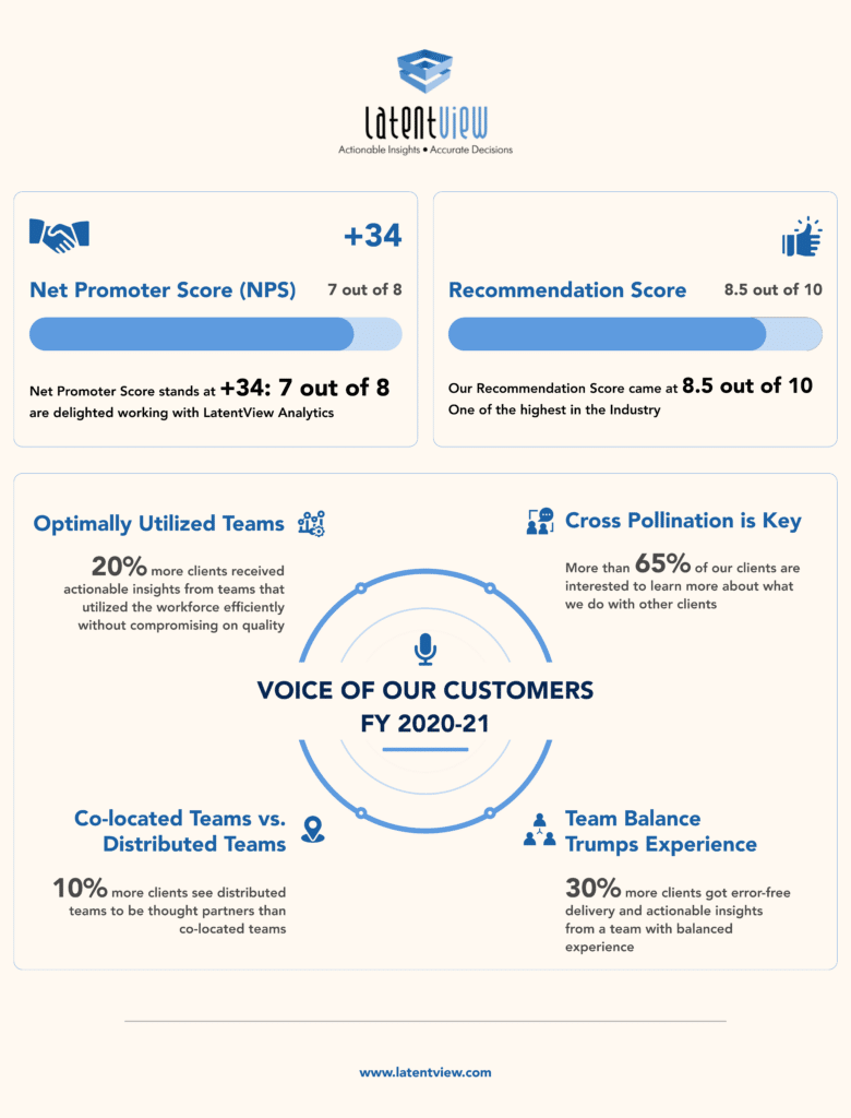 Voice of Customers Survey Infographic 1